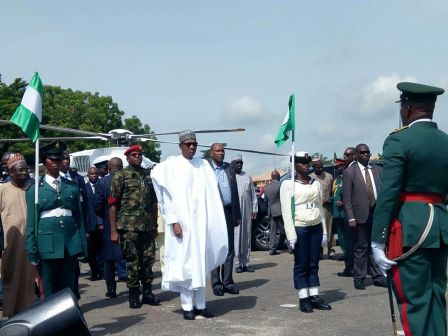 Photos: Buhari Visits Ogun To Commission Projects