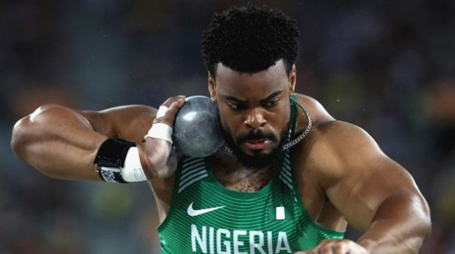 Nigerian Shot-putter, Enekwechi Finishes 8th In Diamond League Debut
