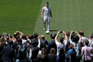 Pictures: Jovic Presented As Real Madrid Player