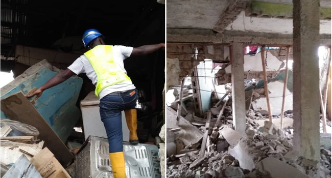 At least eight persons have been injured after a building collapsed in the Mafoluku area Oshodi, Lagos State, on Sunday. Oke Osanyintolu, Director-General, Lagos State Emergency Management Agency (LASEMA), who confirmed the incident to Channels Television, noted that no life was lost. Oke blamed the collapse on poor maintenance of the building, saying that integrity tests will be carried out on other structures around the collapsed building, to ascertain their suitability and durability. He stated that occupants have been evacuated, as the building i