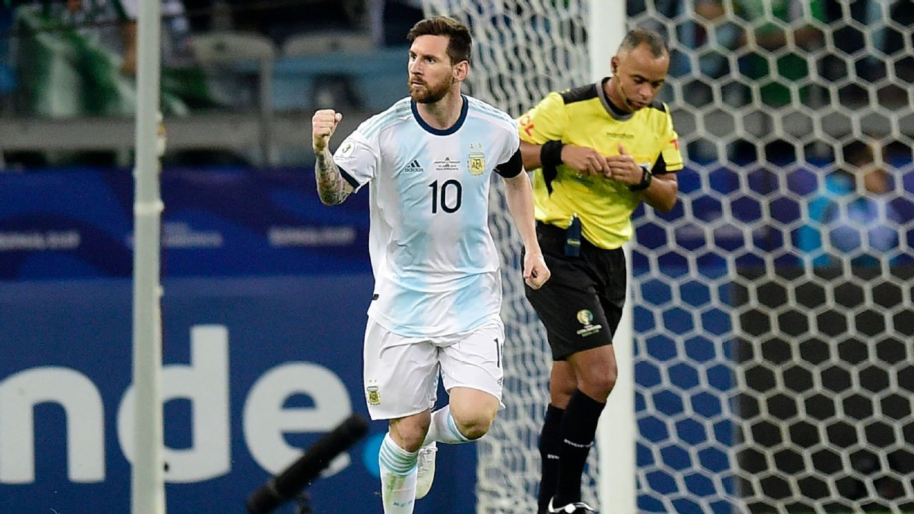 Copa America Pitches Are 'Shameful', Says Messi