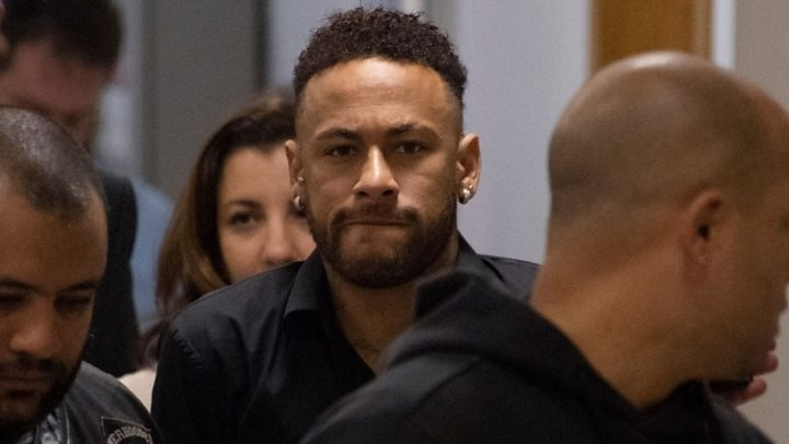 Neymar Gives Statement To Brazilian Police Amid Rape Allegation