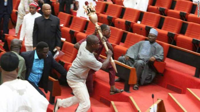 We're Still Hunting Thugs Who Snatched National Assembly Mace – Police