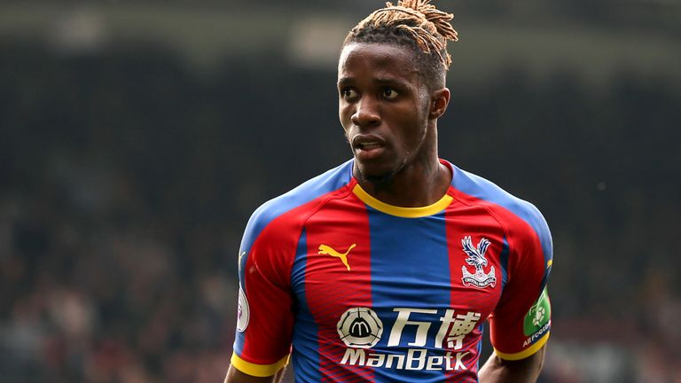 I Want To Play In Europe, Says Zaha Amidst Arsenal Interest