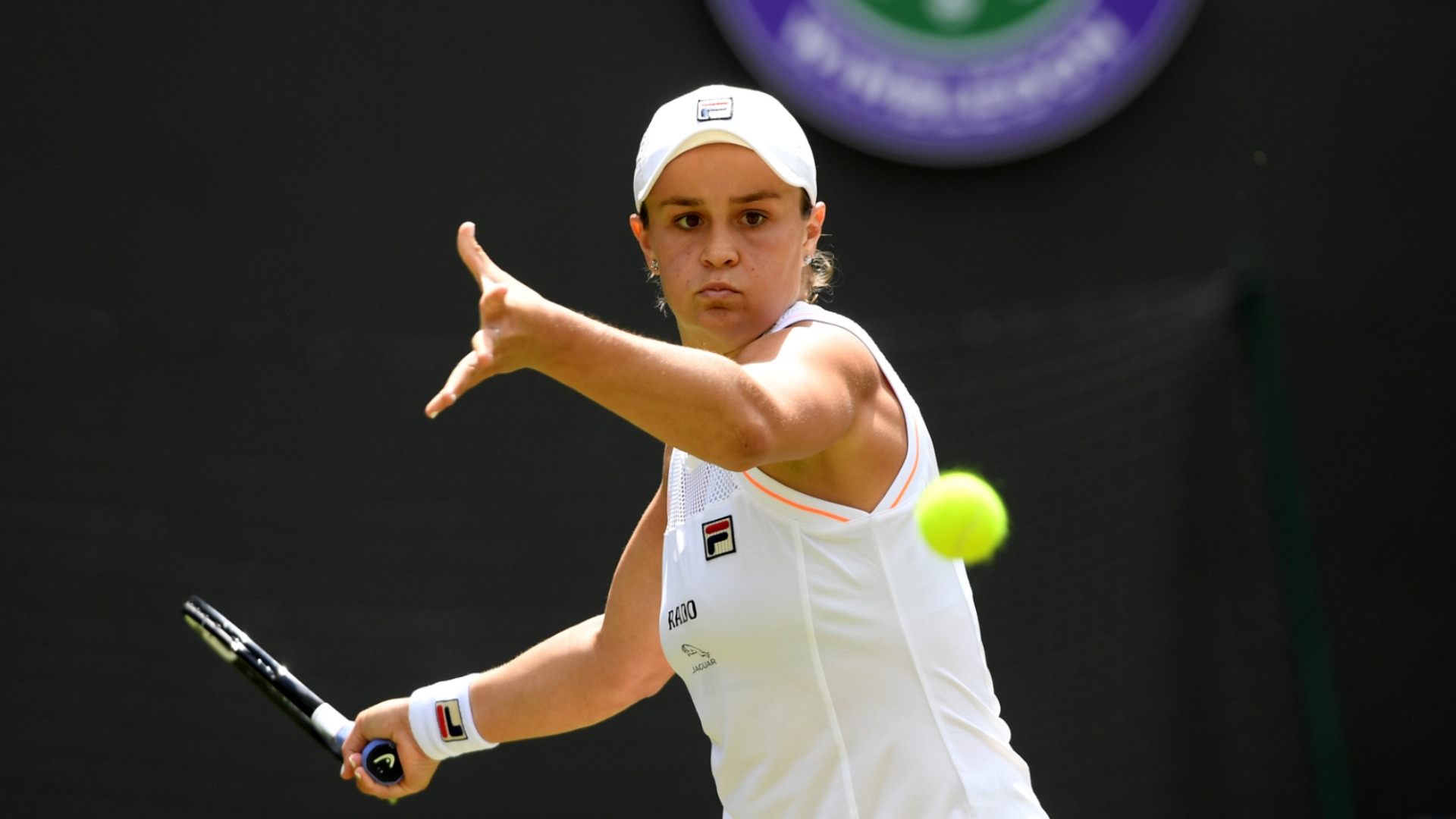 World Number One Barty Knocked Out Of Wimbledon