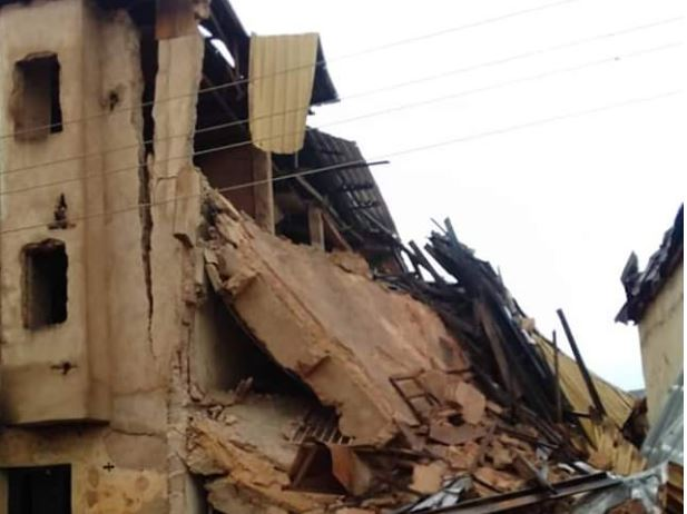 Three Dead, 40 Feared Trapped As Building Collapses
