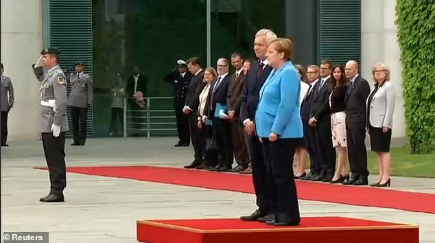 Merkel Trembles In Public For Third Time In One Month