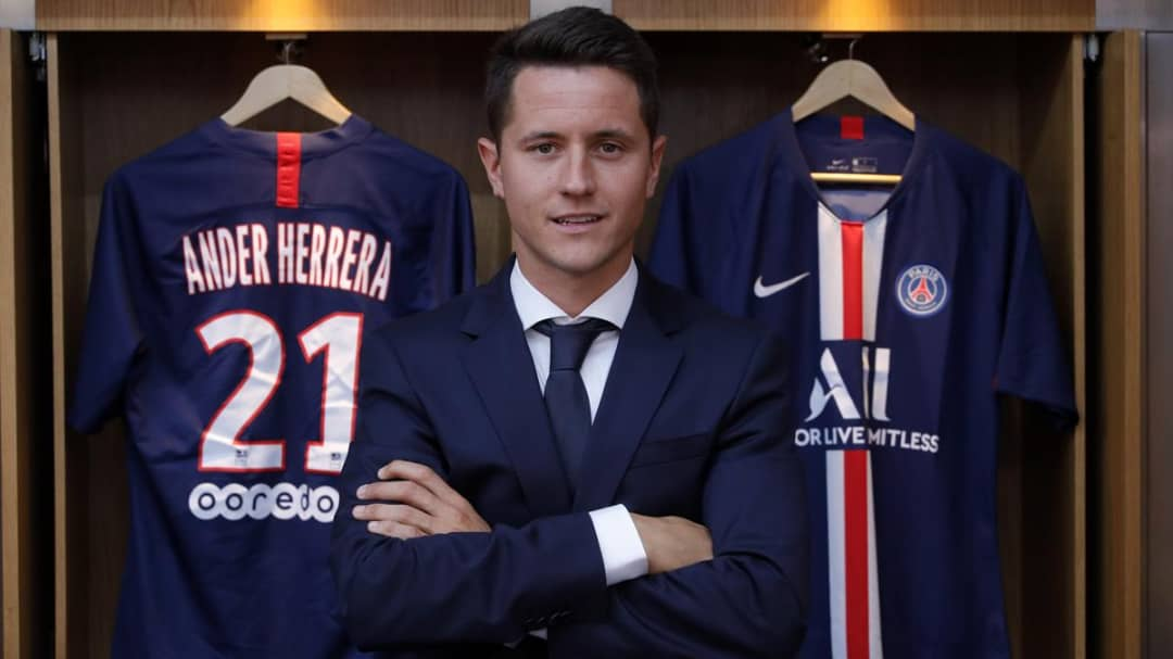 Herrera Sends Message To Man United Fans After Sealing PSG Move