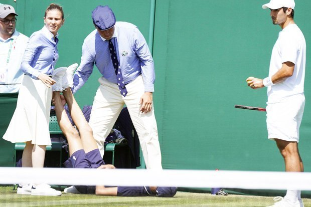 Wimbledon: Match Halted After Ball Boy Collapses Over Intense Heat