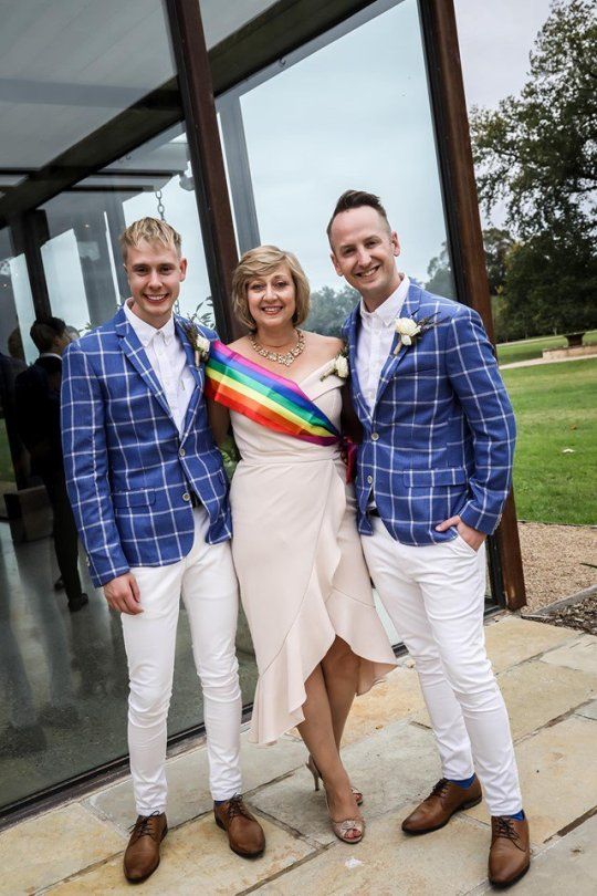 Christian Woman Marries Son To Gay Partner