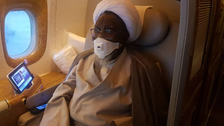 Image result for images of El-Zakzaky And Wife, Zeenat Set To Go On Another Medical Trip Soon