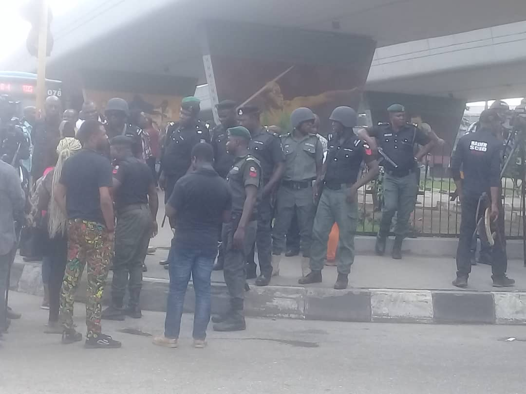 Why We Dispersed #RevolutionIsNow Protesters - Police