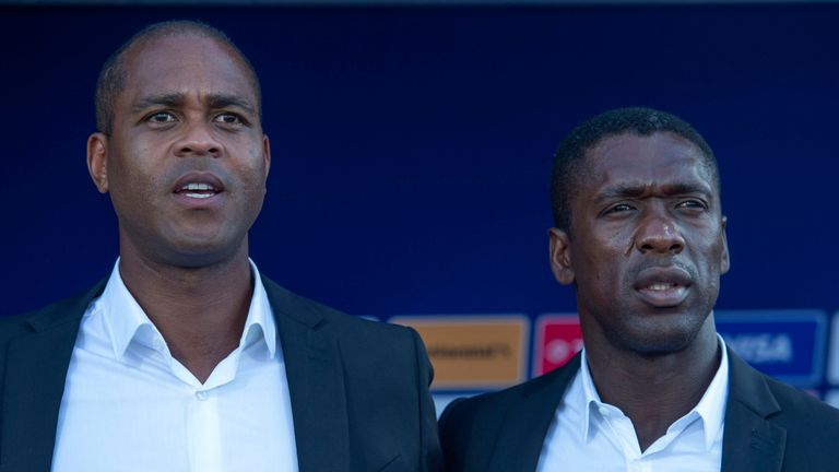 Seedorf and Kluivert