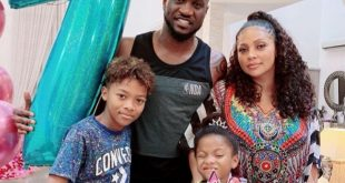 Peter Okoye and family