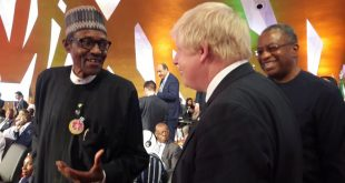 Buhari and Boris Johnson